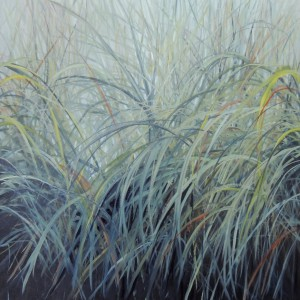 GRASSES 24X24 OIL ON CANVAS