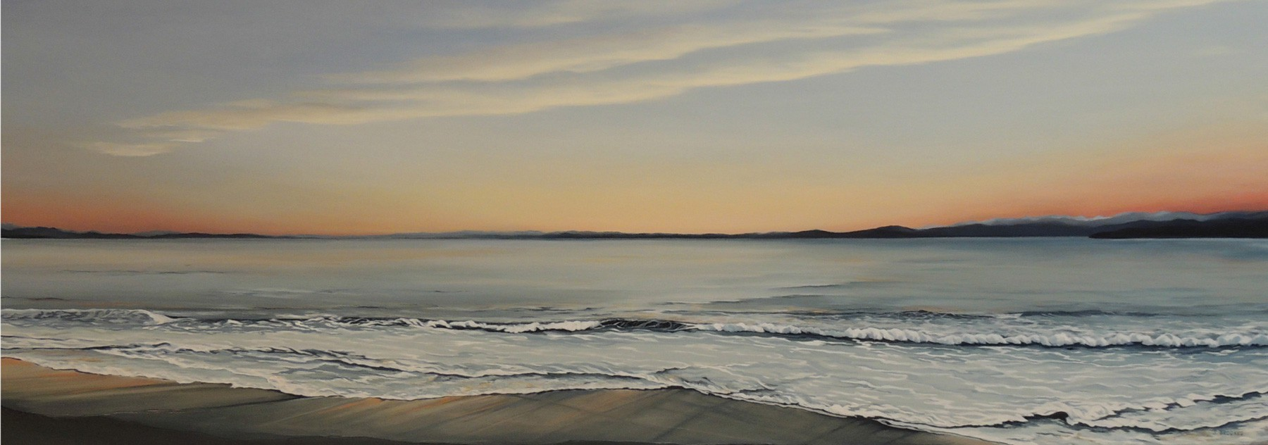 Gentle Waves 44x84 - 2013