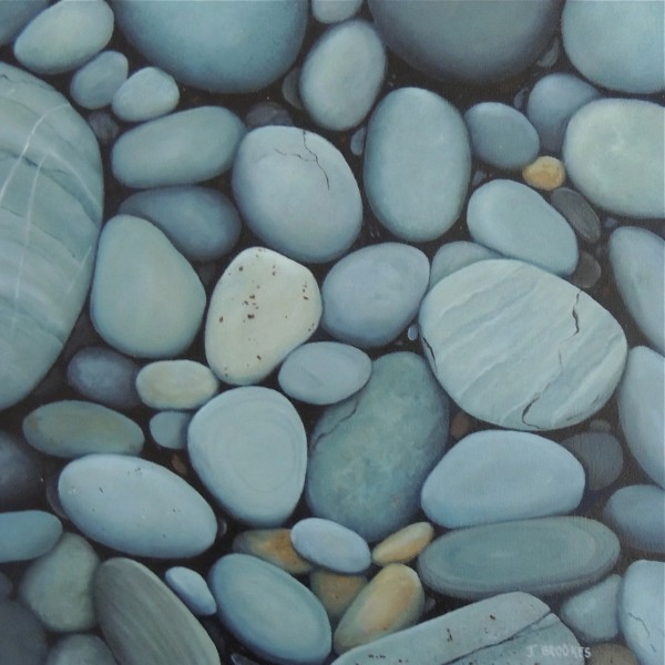 SMOOTH ROCKS 12X12