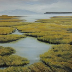 WETLANDS IN BOUNDARY BAY 30X40