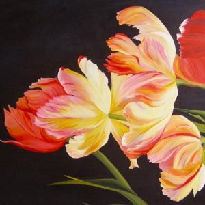 handful-of-tulips-36x60-2011
