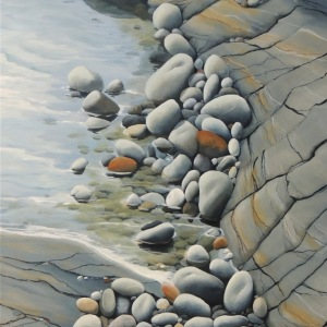 smooth-rocks-in-a-tidal-pool-30x30
